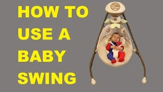 How to Use a Baby Swing