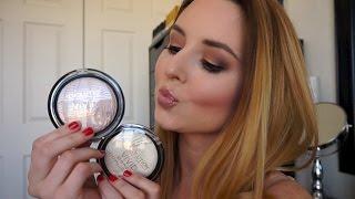 Makeup Revolution Vivid Baked Highlighter Review & Demo