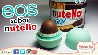 💞 💞  ∞ EOS de Nutella FÁCIL DIY/Nutella EOS DIY EASY  ∞ 💞 💞
