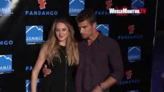 Shailene Woodley, Theo James arrive at Summit Entertainment's Comic Con Red Carpet