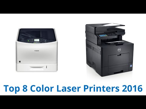 8 Best Color Laser Printers 2016