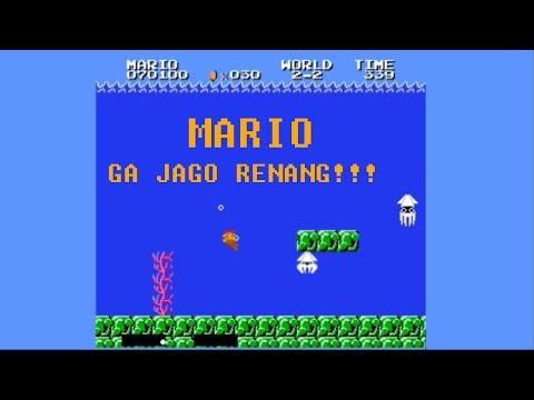 Main Super Mario Bros (VS) : Nostalgila. Mario Jarang Main Di Kali, nih!
