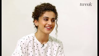Taapsee Pannu On How To Maintain Curly Hair