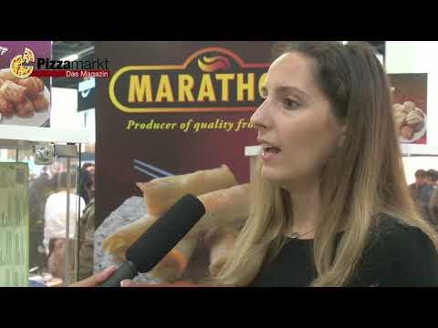 Marathon Food - Anuga 2017 im Interview mit Pizzamarkt