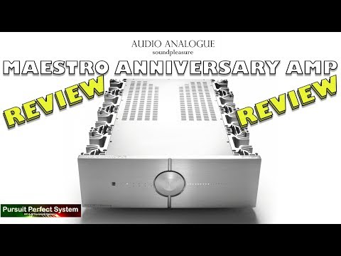 Audio Analogue Maestro Anniversary Integrated Amplifier REVIEW #Fabulous #HiFi
