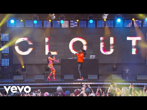 Offset - Clout Feat. Cardi B(Live on Jimmy Kimmel Live!)