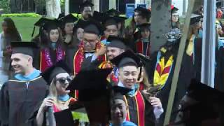2019 Commencement Ceremony (Masters Students)