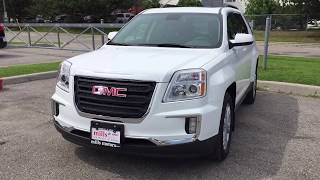 2017 GMC Terrain SLE FWD Built in NAVIGATION Summit White Oshawa ON Stock #171762