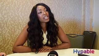 Chantel Riley Interview Comic-Con 2018
