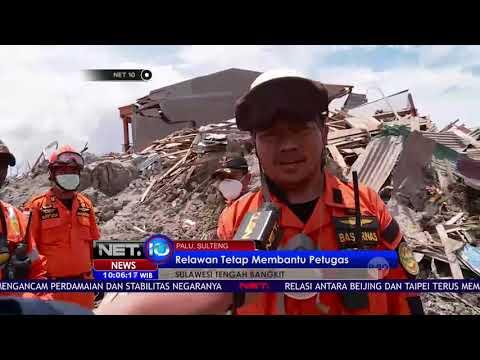 Live Report Hari Terakhir Proses Pencarian Korban Gempa dan TSunami Kota Palu   NET10
