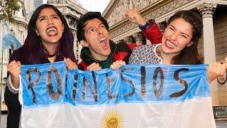 NUESTRA PRIMERA VEZ EN ARGENTINA | LOS POLINESIOS VLOGS
