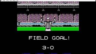 Tecmo Super Bowl 91.5 Yard Field Goal