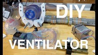 DIY Breath Controlled Ventilator Part 1