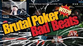 Brutal Poker Bad Beats   Poker Twitch Clips