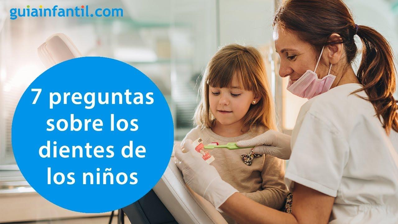 Las dudas más frecuentes de los padres sobre el cuidado de los dientes de los niños