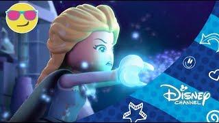 Disney Channel España  Disney Frozen Luces De Invierno Parte 2 Saliendo De La Tormenta