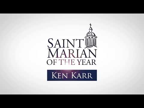 USM Honors Ken Karr - 2018 Saint Marian of the Year