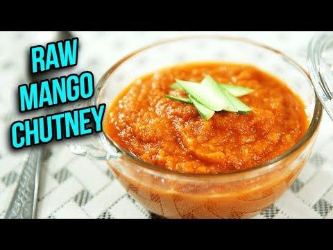 Instant Raw Mango Chutney Recipe – How To Make Sweet & Tangy Chutney At Home – Ruchi Bharani
