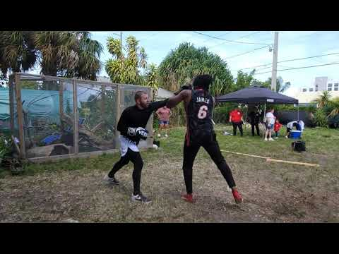 HEAVYWEIGHT (THROW DOWN) IN THE STREETS OF [MIAMI 305]