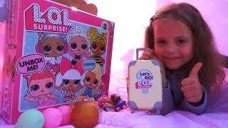LOL Surprise БОЛЬШОЙ набор ЛОЛ кукла ОРИГИНАЛ и ПОДДЕЛКА Видео для детей