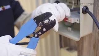 ¿Cómo Instalar Una Acometida Con Cable Concéntrico De Aluminio ELEXOR?