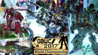 Gunpla Builders World Cup (GBWC) Indonesia 2017 All Entries HD