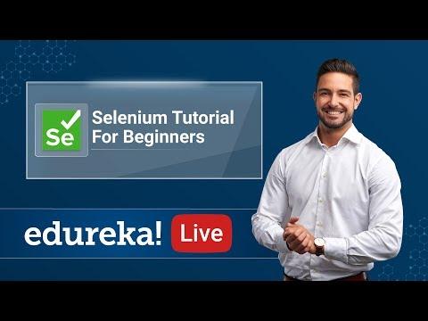 Introduction to Selenium | Selenium Tutorial | Selenium Basics for ...