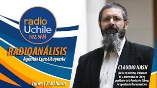 """""""Agenda Constituyente"""" con el académico Claudio Nash. Capítulo 1"""