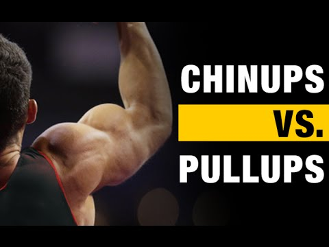 Video Pullups vs Chinups:  The BIG Differences!!