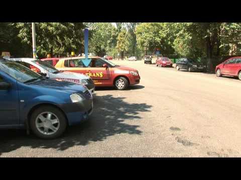Ieșirea din parcare cu fața