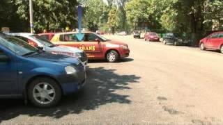 Iesirea din parcare cu fata