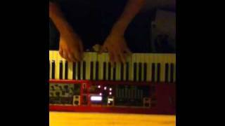 """Piano Cover for """"Fireworks"""" by Animal Collective"""