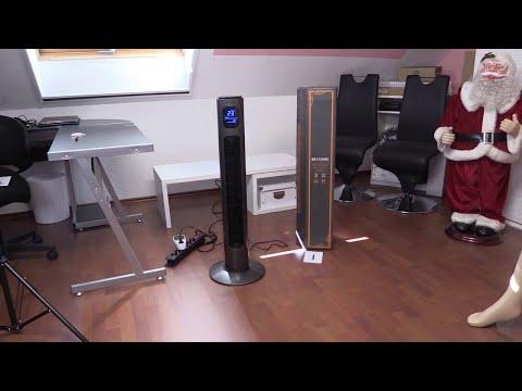 BRANDSON Turmventilator mit Fernbedienung und Oszilation