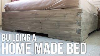 Making a homemade bed / Hjemmelaget seng