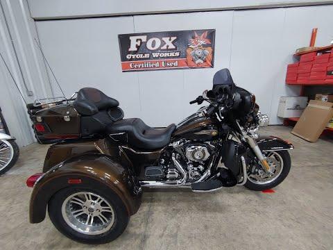 2013 Harley-Davidson Tri Glide® Ultra Classic® 110th Anniversary Edition in Sandusky, Ohio - Video 1