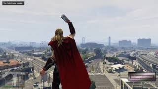GTA 5 Thor Avenger