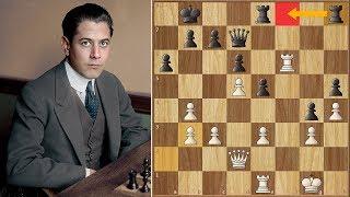 Afraid of the Strongest Move? || Capablanca vs R. Lopez
