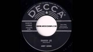 Andy Quinn - Sharon Lee [Decca] '1959 Popcorn Rockabilly 45