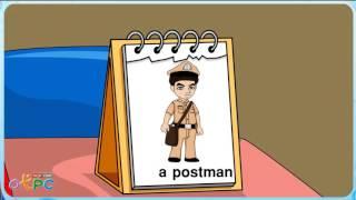 สื่อการเรียนการสอน คำศัพท์ภาษาอังกฤษ   อาชีพ ต่างๆ ป.2 ภาษาอังกฤษ