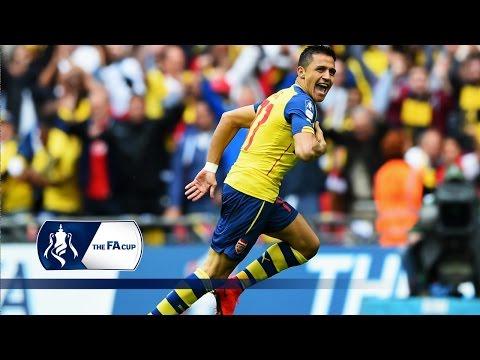Unbelievable Alexis Sanchez goal - Arsenal 4-0 Aston Villa | Goals & Highlights