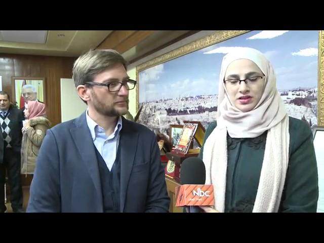 EU Visit MED SOLAR project at An Najah Univeristy