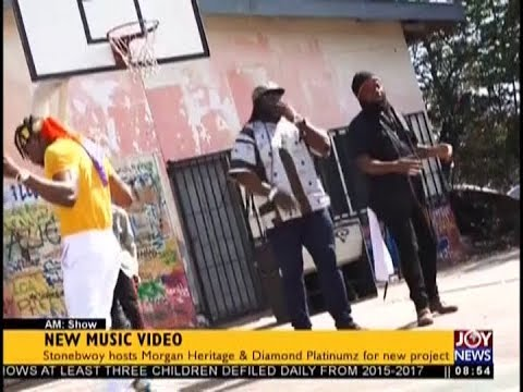 Stonebwoy To Do New Music Video   AM Showbiz on JoyNews 21 9 18