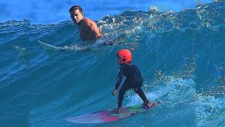 SURFING WITH THE NORRIS NUTS *youngest sister Is amazing*