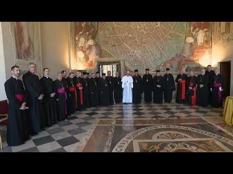 Βατικανό: Συνάντηση Πάπα με τους ηγέτες της Καθολικής Εκκλησίας της Ουκρανίας…
