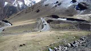 Горы Тянь-шань. Киргизия. Перевал Тее-ашуу.