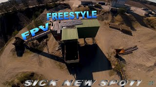 FPV FREESTYLE My new favorite spot!