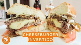 #56 - Como Fazer Cheeseburger Invertido