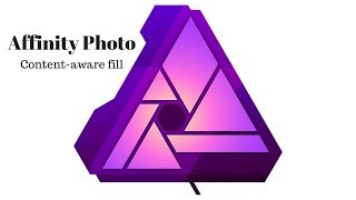 Affinity Photo Content aware fill