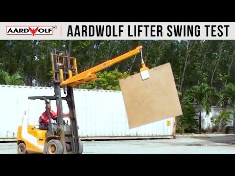 Aardwolf Slab Lifter 60 - Video 3