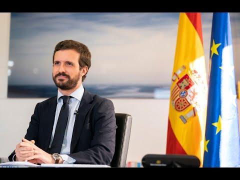 Pablo Casado tiende la mano a Sánchez para hacer política constructiva y en positivo en el País Vasco